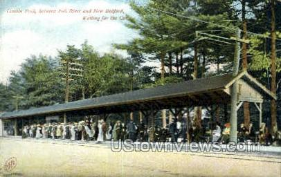 Lincoln Park - New Bedford, Massachusetts MA Postcard