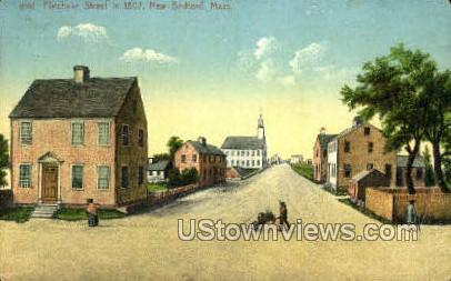 Purchase St. - New Bedford, Massachusetts MA Postcard