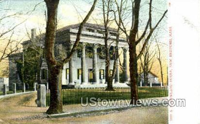 The A. H. Howland House - New Bedford, Massachusetts MA Postcard