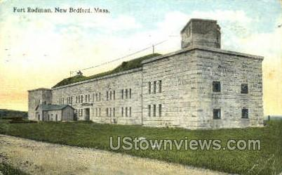 Fort Rodman - New Bedford, Massachusetts MA Postcard
