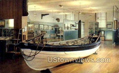 Stove Boat, Whaling Museum - New Bedford, Massachusetts MA Postcard