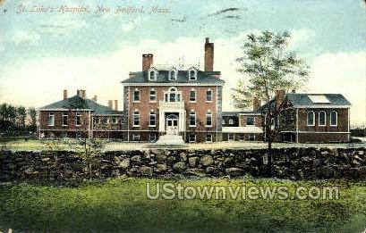 St. Luke's Hospital - New Bedford, Massachusetts MA Postcard