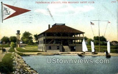 Padanarium Station - New Bedford, Massachusetts MA Postcard
