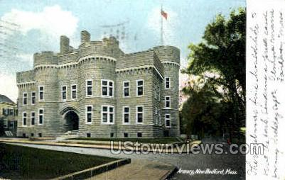Armory - New Bedford, Massachusetts MA Postcard