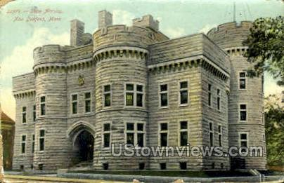 State Armory - New Bedford, Massachusetts MA Postcard
