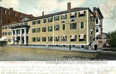 The Parker House - New Bedford, Massachusetts MA Postcard