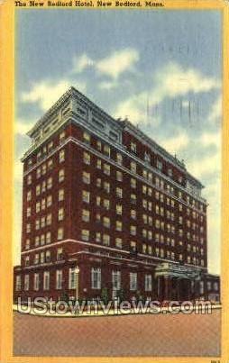 The New Bedford Hotel - Massachusetts MA Postcard