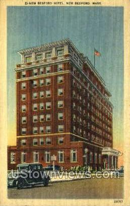 New Bedford Hotel - Massachusetts MA Postcard
