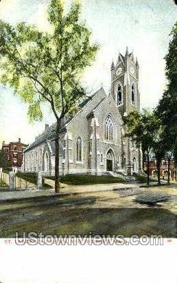St. Lawrence Church - New Bedford, Massachusetts MA Postcard