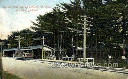 Lincoln Park Station - New Bedford, Massachusetts MA Postcard