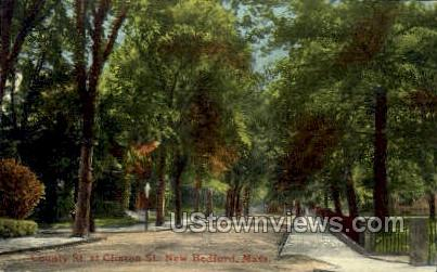 County St.  - New Bedford, Massachusetts MA Postcard