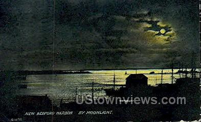 New Bedford Harbor - Massachusetts MA Postcard