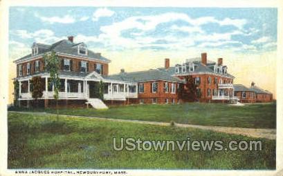 anna Jacques Hospital - Newburyport, Massachusetts MA Postcard