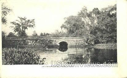Artichoke Bridge - Newburyport, Massachusetts MA Postcard