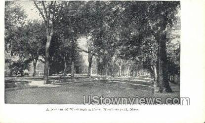 Washington Park - Newburyport, Massachusetts MA Postcard