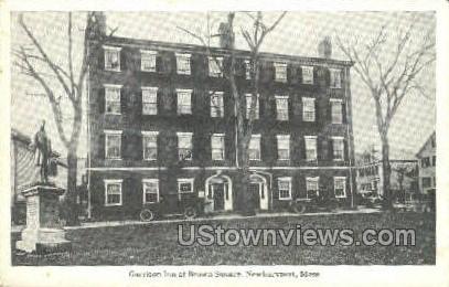 Garrison Inn - Newburyport, Massachusetts MA Postcard