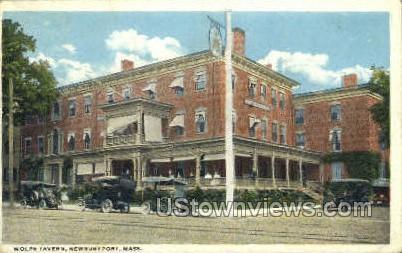 Wolfe Tavern - Newburyport, Massachusetts MA Postcard