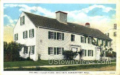 The Swett-Ilsley House - Newburyport, Massachusetts MA Postcard