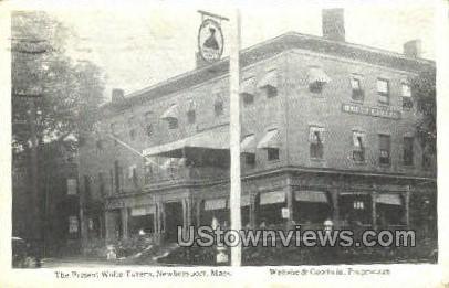 The Present Wolfe Tavern - Newburyport, Massachusetts MA Postcard