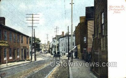 Merrimac St. - Newburyport, Massachusetts MA Postcard
