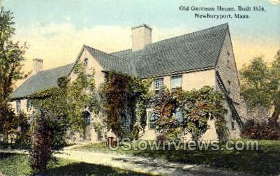 Old Garrison House - Newburyport, Massachusetts MA Postcard