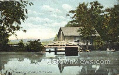 Curzons Mill - Newburyport, Massachusetts MA Postcard