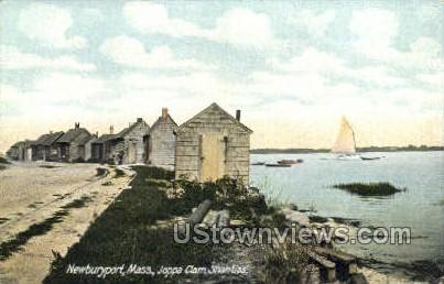 Joppa Clam Shanties - Newburyport, Massachusetts MA Postcard