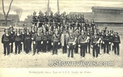 Neptune V.F.A.  - Newburyport, Massachusetts MA Postcard