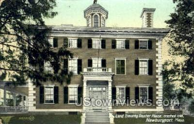 Lord Timothy Dexter Place - Newburyport, Massachusetts MA Postcard