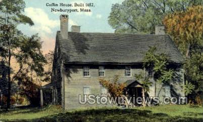 Coffin House - Newburyport, Massachusetts MA Postcard