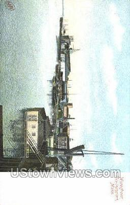 Waterfront - Newburyport, Massachusetts MA Postcard