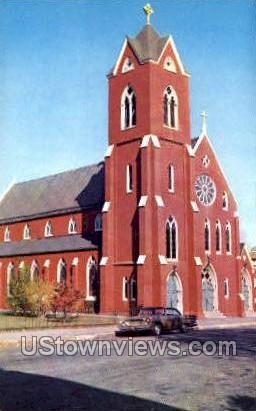 Immaculate Roman Church - Newburyport, Massachusetts MA Postcard