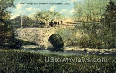 Stone Bridge, Dummer - Newburyport, Massachusetts MA Postcard