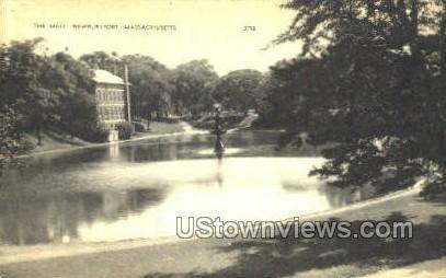 The Mall - Newburyport, Massachusetts MA Postcard