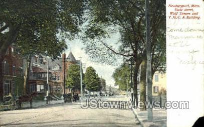 Y.M.C.A. Building - Newburyport, Massachusetts MA Postcard