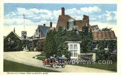Indian Hill Farm - Newbury, Massachusetts MA Postcard