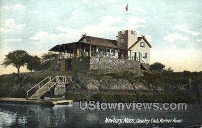 Country Club, Parker River - Newbury, Massachusetts MA Postcard