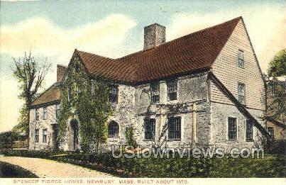 Spencer Pierce House - Newbury, Massachusetts MA Postcard