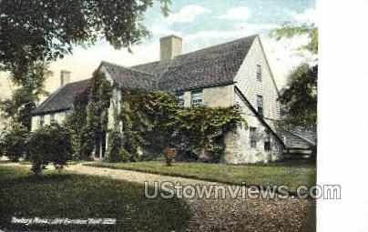 Old Garrison House - Newbury, Massachusetts MA Postcard