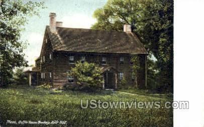 Coffin House - Newbury, Massachusetts MA Postcard