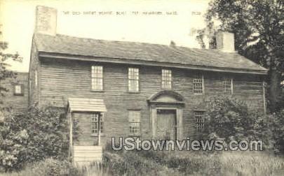 The Old Short House - Newbury, Massachusetts MA Postcard