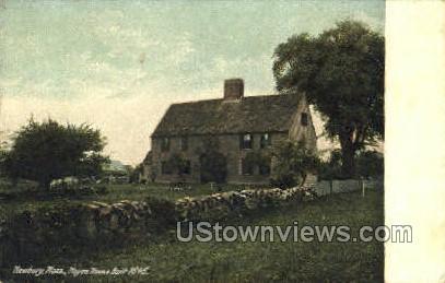 Hoyes House - Newbury, Massachusetts MA Postcard