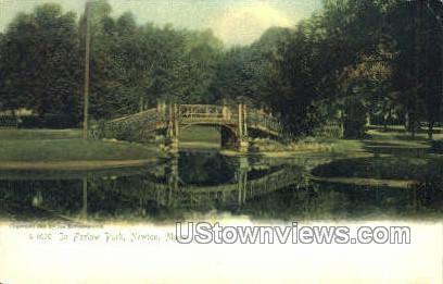In Farlow Park - Newton, Massachusetts MA Postcard