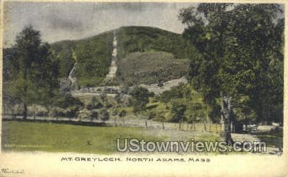 Mt Greylock - North Adams, Massachusetts MA Postcard