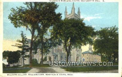 Williams College - North Adams, Massachusetts MA Postcard