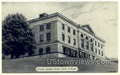 North Adams State Tech - Massachusetts MA Postcard