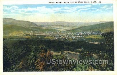 North Adams - Massachusetts MA Postcard