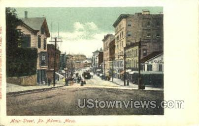 Main St. - North Adams, Massachusetts MA Postcard