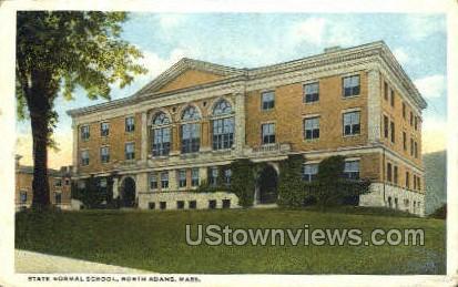 State Normal School - North Adams, Massachusetts MA Postcard