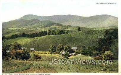 Greylock Mountain - North Adams, Massachusetts MA Postcard